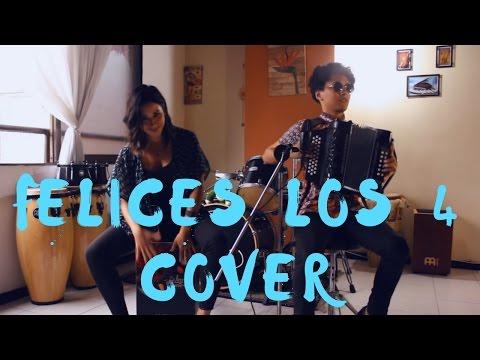 Felices los 4 - Maluma Mulett Acordeón Cover ft  Lina Quintero
