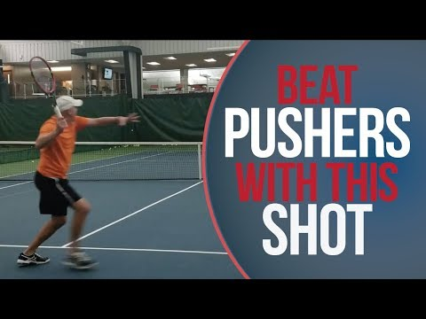Thumbnail: Beat The Pusher | Tennis Lesson | Key Shot To Handle Playing Pushers