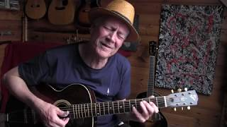 Rock Me Baby - Acoustic Blues on a 1928 Gibson L3
