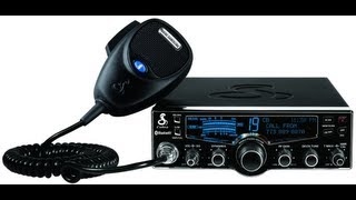 Cobra 29LXBT CB radio with 4 LCD display and Bluetooth Wireless Technology - AF5DN