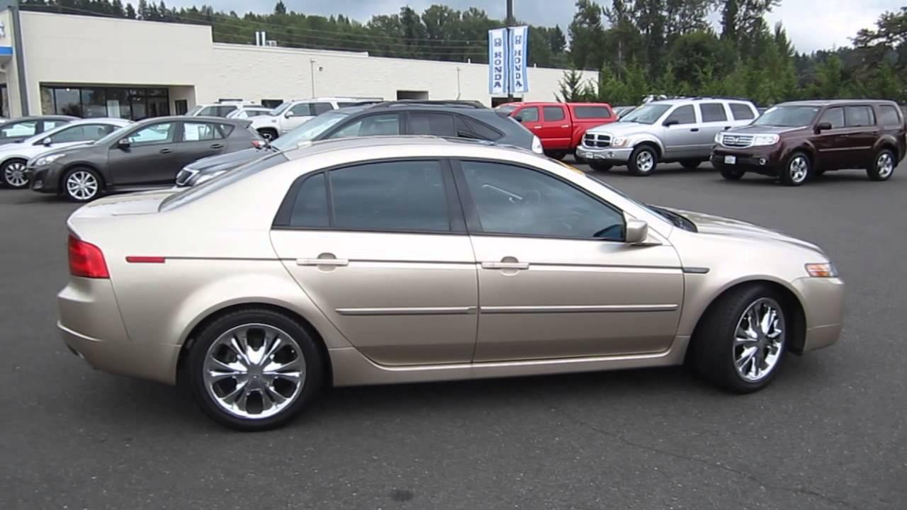 Acura acura tlx 2005 : 2005 Acura TL, Gold - STOCK# B2266 - Walk around - YouTube