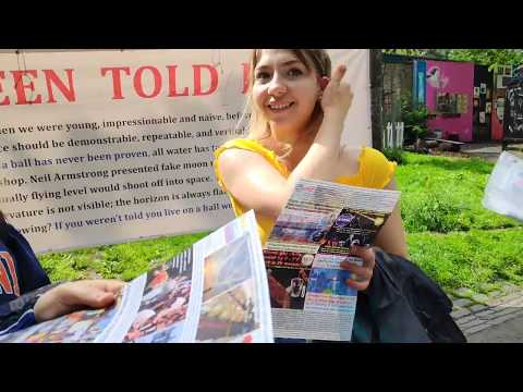 Exposing lies in Edinburgh with John Smith the instigator of the Globe Lie Activism (PART 2)