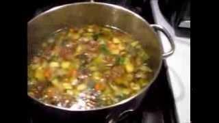 Cooking W/ Gradys Mom: Mini Meatball & Veggie Soup
