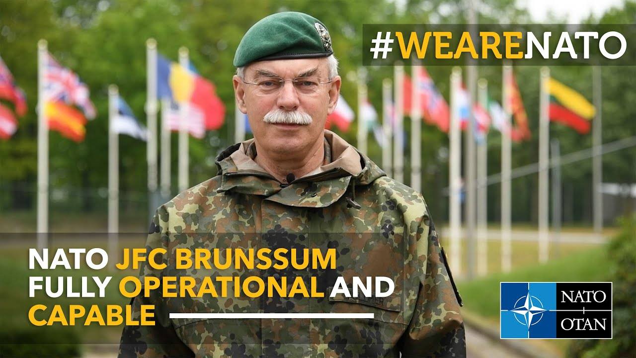 NATO Joint Force Command Brunssum, fully operational and capable