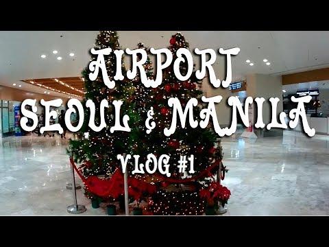 #1 From Russia to Seoul and Manila Airports/Из России в Манилу через Сеул