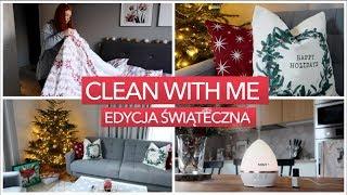 CLEAN WITH ME | EDYCJA ŚWIĄTECZNA