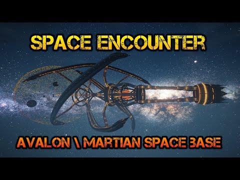 Космическая встреча, Avalon Spaceship, Martian Space Base - [Minecraft Timelapse\Cinematic]