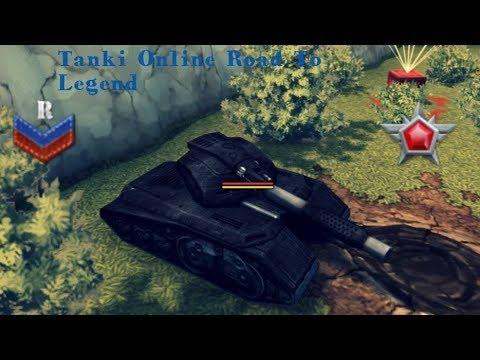 Tanki Online Road To Legend Shaft Mammoth