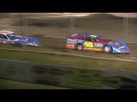 Attica Raceway Park Late Model Heat Race 4-13-18