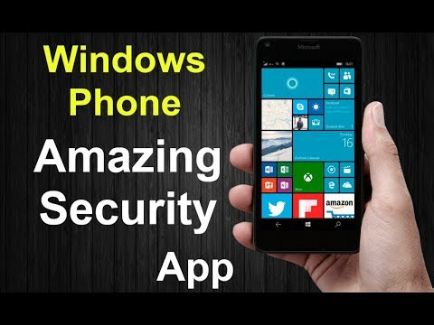 New Windows Phone Amazing Security Application protect music,apps,more security