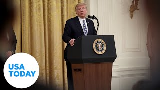 President Trump delivers remarks on senior citizens and COVID-19 | USA TODAY