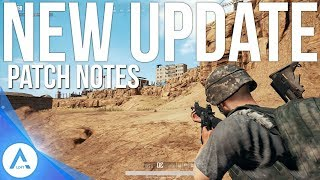 PUBG Xbox Update: PTS Patch Notes - Limb Penetration, Weather, Performance & More!