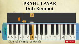 Didi kempot prahu layar not pianika