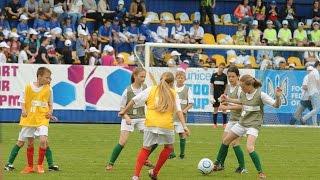 Гол у фіналі Кубку ЮНІСЕФ Енергодар - Пісочинський колегіум