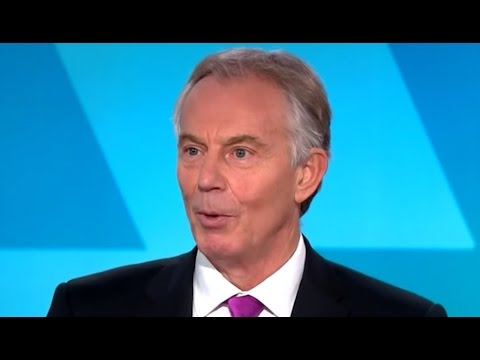 Tony Blair Thinks We Should Make Centrism Great Again
