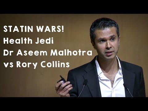STATIN WARS! Health Jedi Dr Aseem Malhotra vs Rory Collins