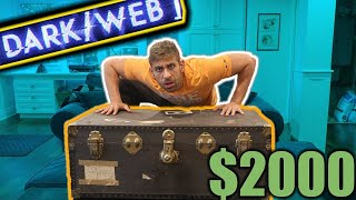 I bought the CREEPIEST MYSTEY BOX OFF THE DARK WEB! | Unboxing a dark web mystery box  | ALI H