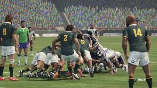 AFRIQUE DU SUD - FRANCE : Rugby Challenge 3 [PC]