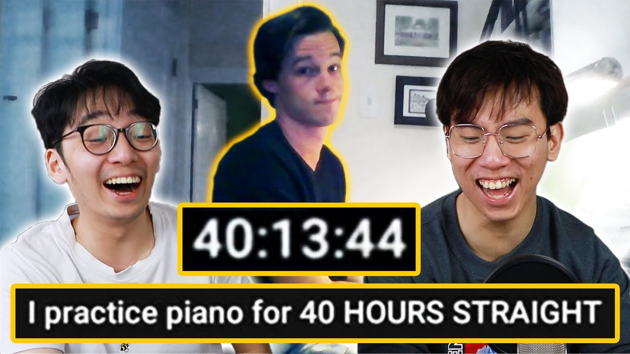 THIS GUY PRACTICED FOR 40 HOURS STRAIGHT