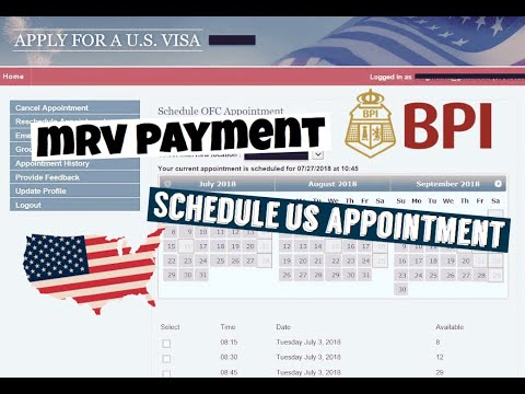 How To Get MRV Slip? Payment? How To Book US Appointment?