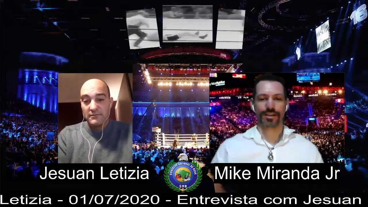Entrevista: Jesuan Letizia - WBO Latino