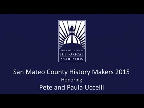 San Mateo County History Makers Night 2015