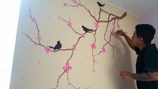 Pintura para cuarto de niña