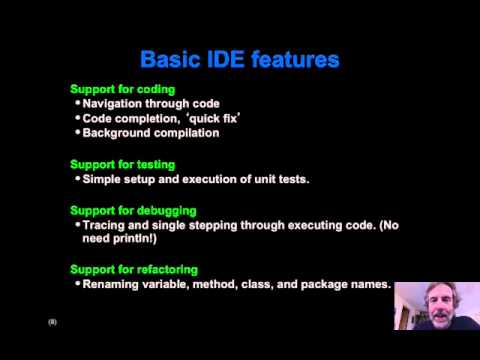 Introduction to IDEs