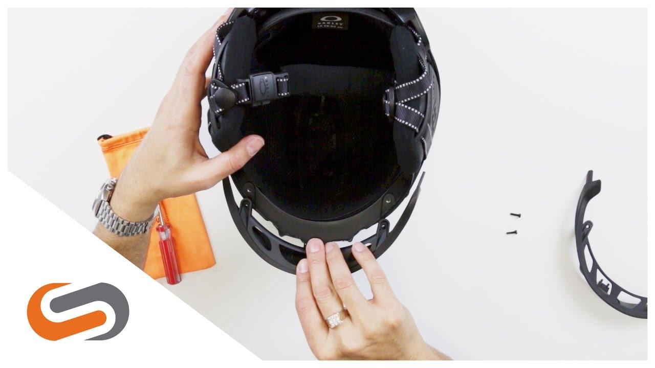 a6cbed43aca How to  Interchange the Brim on Oakley Mod5   Mod3 Helmets