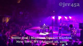 Billy Joel - August 28, 2019 MSG NYC Live
