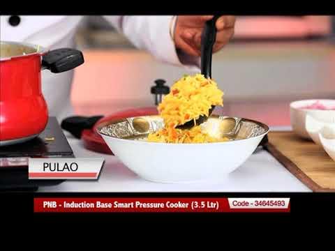 d5fa95a2c0c PNB - Induction Base Smart Pressure Cooker (3.5 Ltr) - YouTube