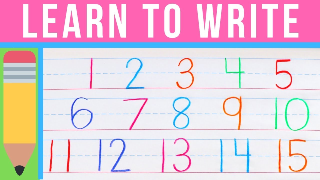 How to Write Numbers  Learn to Write with Chicka Chicka 23  Handwriting  Practice for Kids