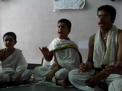 Rudra Prashna Paath by Vedic Students
