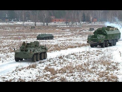 Учения курсантов военной