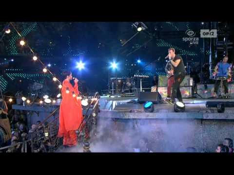 Coldplay And Rihanna - Princess Of China