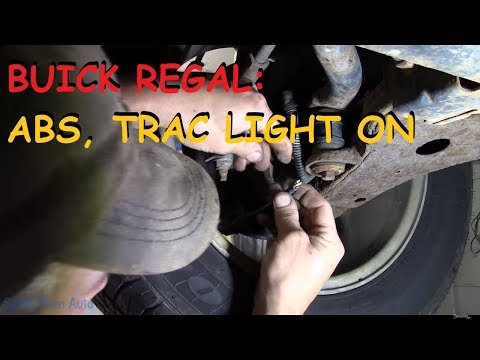 Buick Regal - ABS, Trac Light On