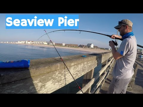 Pier Fishing In Topsail, NC (Feat. Chatt Cats Fishing)