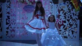 14 февраля. Дефиле с маленькими принцессами Модельного агентства