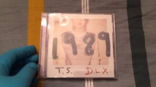 Taylor Swift - 1989 (Deluxe Edition) Unboxing (Extended Version)