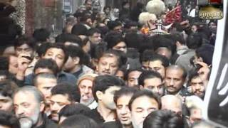 10 Muharram Mochi Gate 2012 - Ziarat E Zuljanah - New Noha By Shahzada Aslam Party Part -17
