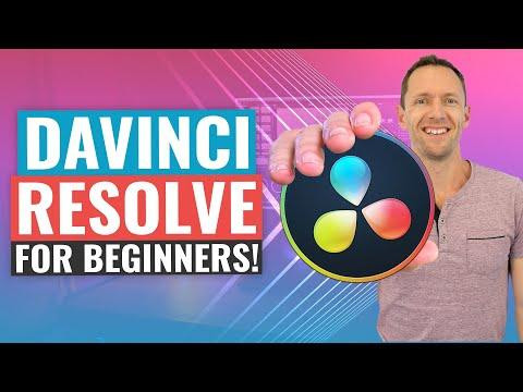 Download DaVinci Resolve - [UPDATED] Complete Tutorial for Beginners!