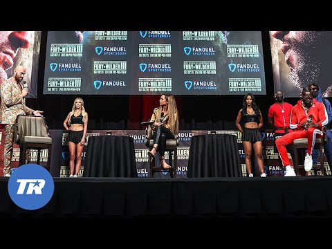 Tyson Fury vs Deontay Wilder Main Event Press Conference