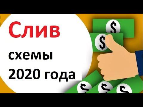 схема заработка на 2020 год