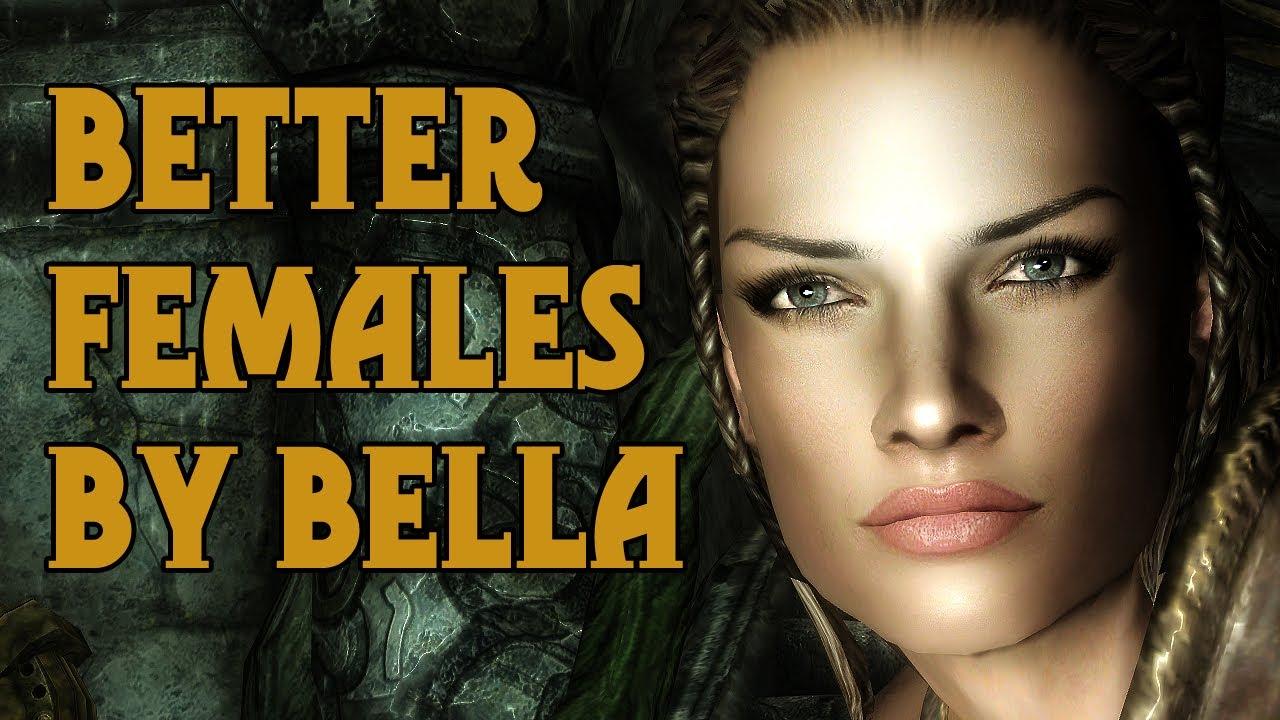 The Elder Scrolls V: Skyrim - Mods Show - Folge #5 Schöne Frauen  [Deutsch/German]