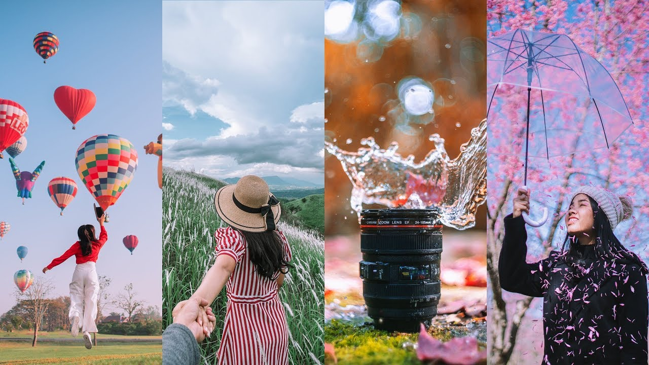 33 creative travel photo ideas in four seasons to try