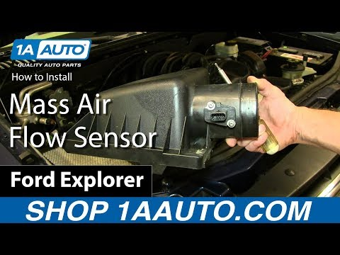 How to Replace Air Flow Meter Sensor 04-13 Ford Explorer 4.6L V8