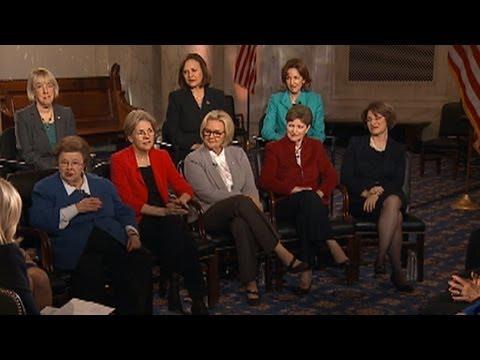 US Female Senators Make History