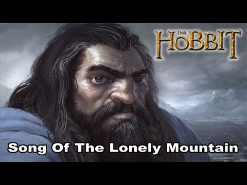 The Hobbit: Song Of The Lonely Mountain (Heavy Metal Version) (With Lyrics)