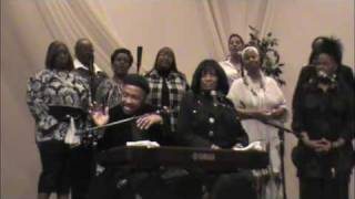 Andraé Crouch at my Pastor's, Bishop Walter Hawkins 61st Birthday Celebration - 2010