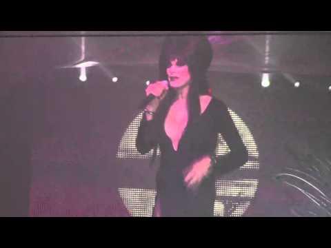 Cassandra Fever as ELVIRA Saturday October 31st 2015 at 340nightclub in Pomona California